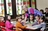 Kids having fun at Kindergarden