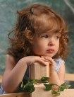 Little Girl Waiting